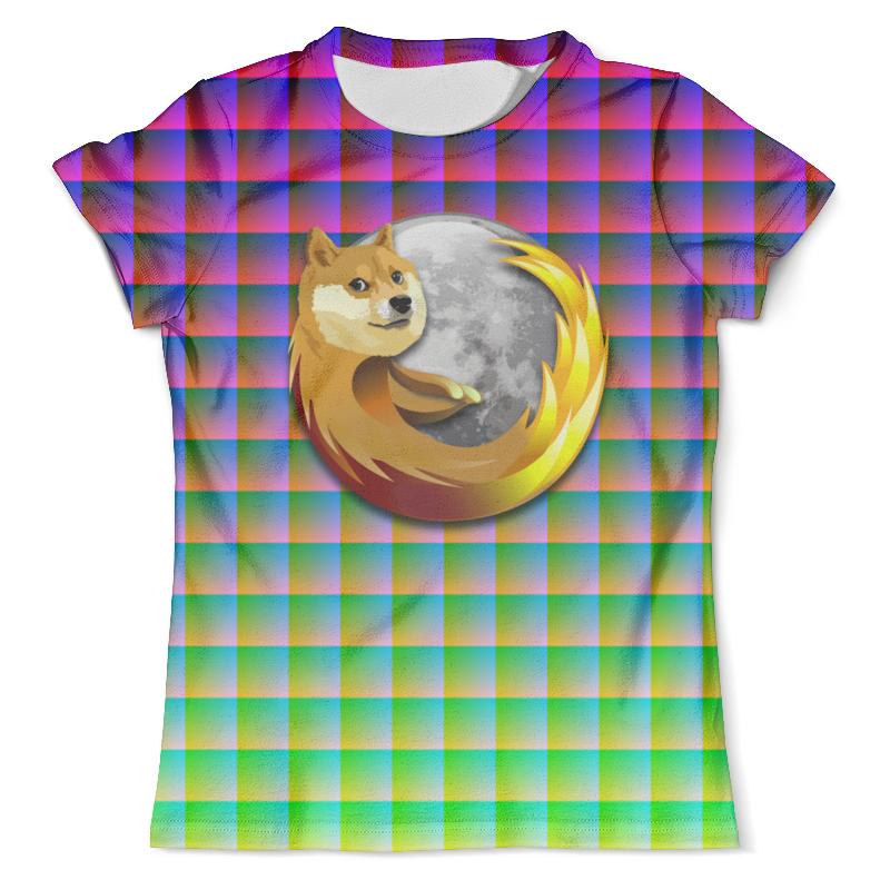 Футболка с полной запечаткой (мужская) Printio Doge firefox футболка классическая printio doge firefox