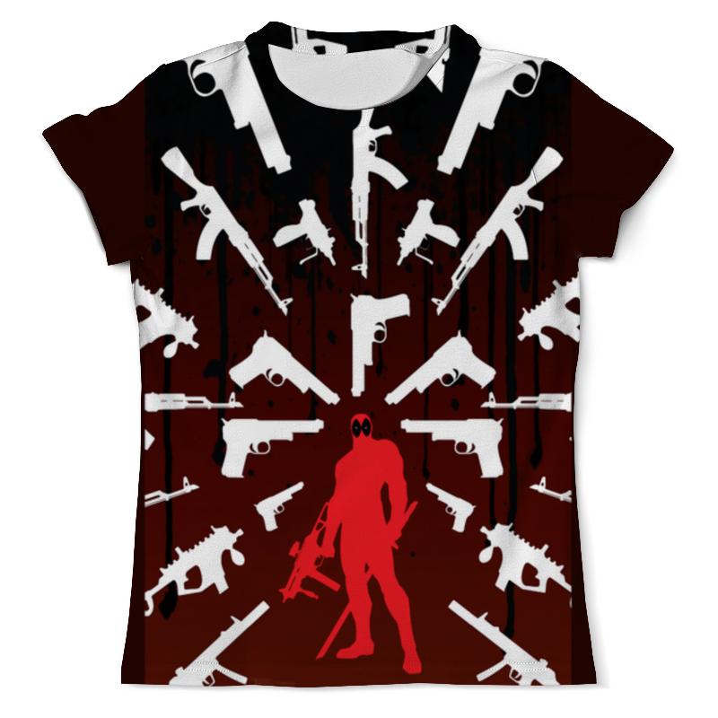 Фото - Футболка с полной запечаткой (мужская) Printio Deadpool weapons чехол для iphone 5 глянцевый с полной запечаткой printio deadpool vs punisher