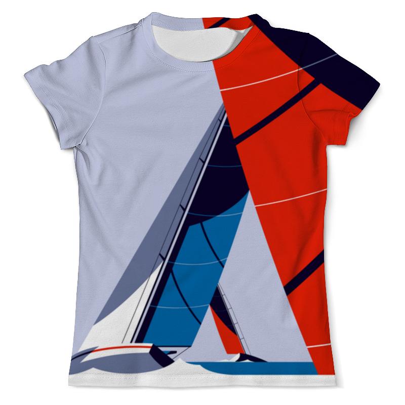 Футболка с полной запечаткой (мужская) Printio Regatta футболка с полной запечаткой мужская printio regatta