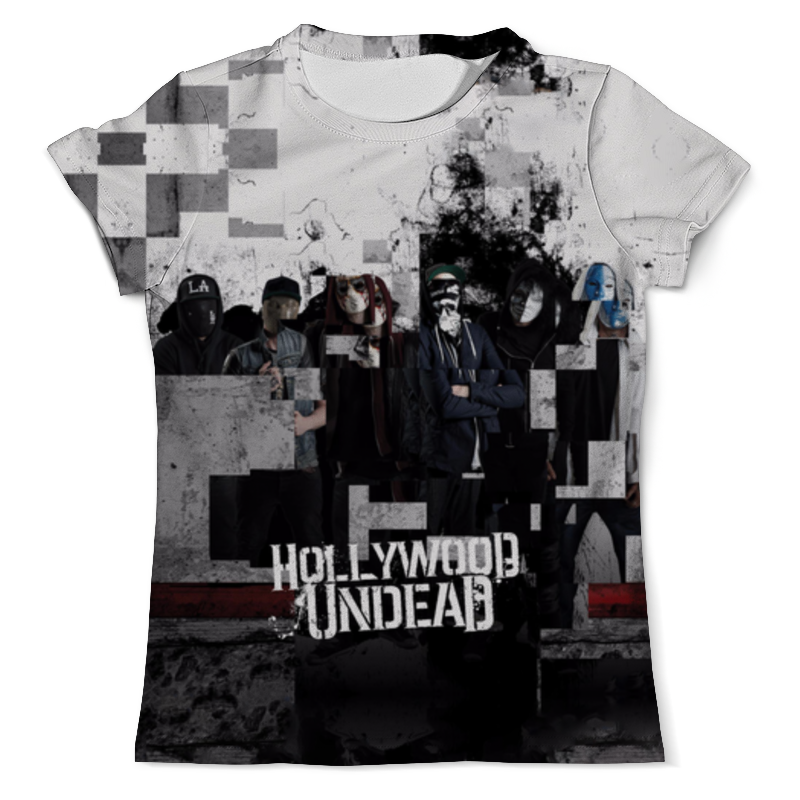 Футболка с полной запечаткой (мужская) Printio Hollywood undead футболка с полной запечаткой для девочек printio hollywood undead