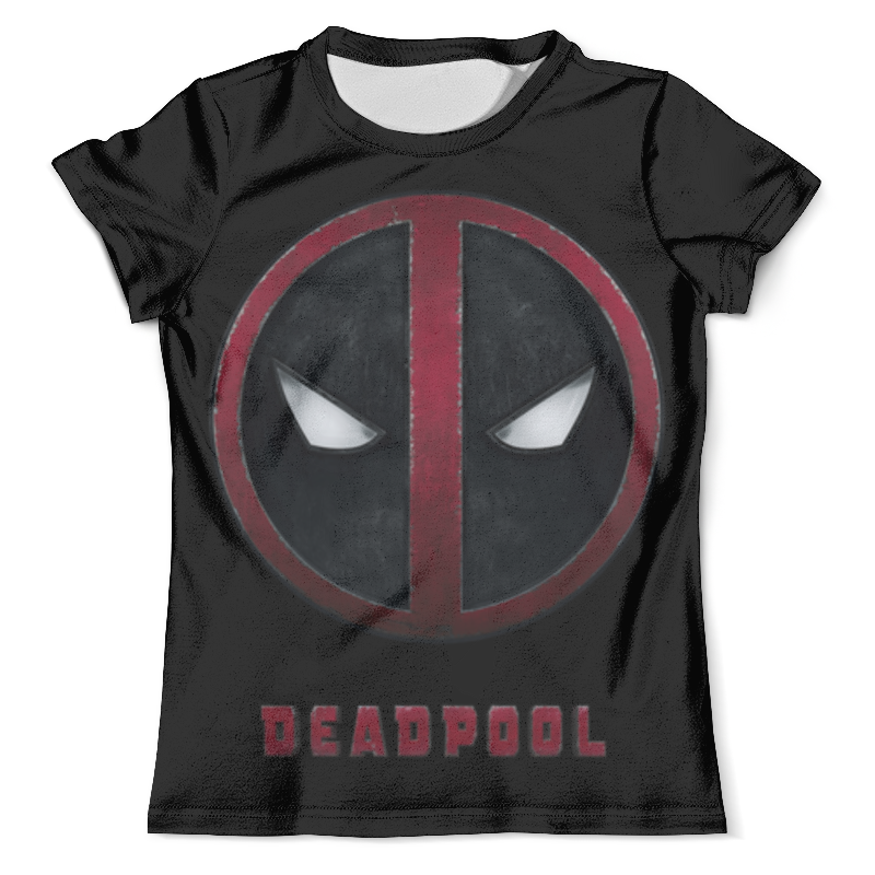 Фото - Футболка с полной запечаткой (мужская) Printio Deadpool чехол для iphone 5 глянцевый с полной запечаткой printio deadpool vs punisher