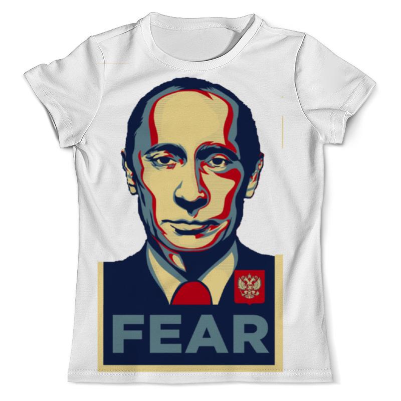 Футболка с полной запечаткой (мужская) Printio Путин футболка с полной запечаткой мужская printio на всю катушку