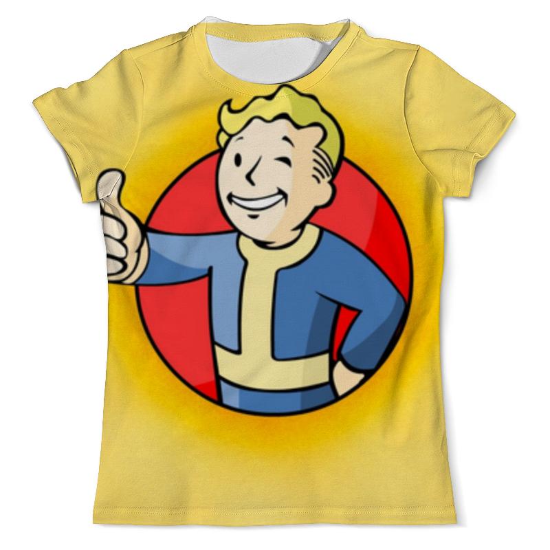 Футболка с полной запечаткой (мужская) Printio Fallout 4 , фаллаут , fallout футболка с полной запечаткой для мальчиков printio fallout 4 фаллаут fallout