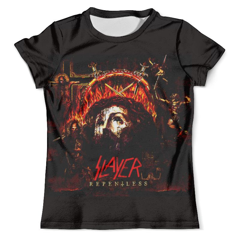 Футболка с полной запечаткой (мужская) Printio Slayer repentless 2015 (2) футболка с полной запечаткой мужская printio slayer repentless 2015