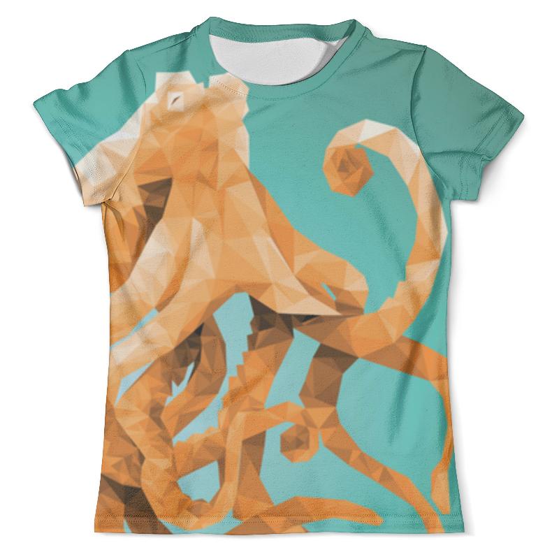 Футболка с полной запечаткой (мужская) Printio Octopus футболка с полной запечаткой для мальчиков printio octopus осьминог