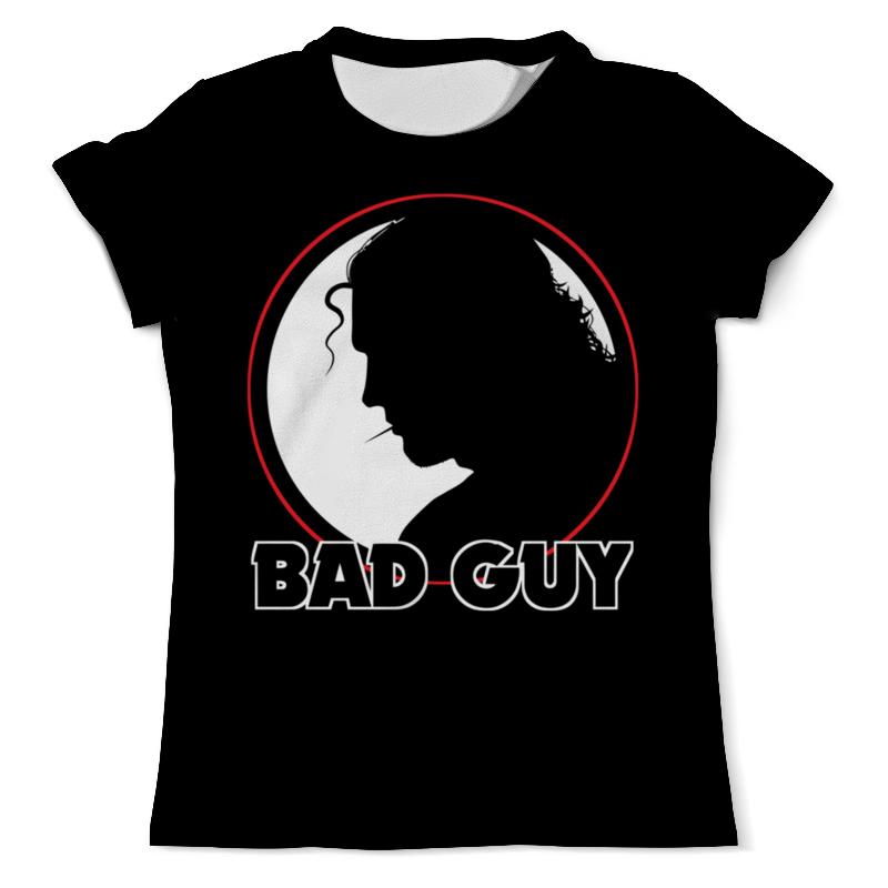 Printio Плохой парень футболка с полной запечаткой мужская printio горячий парень