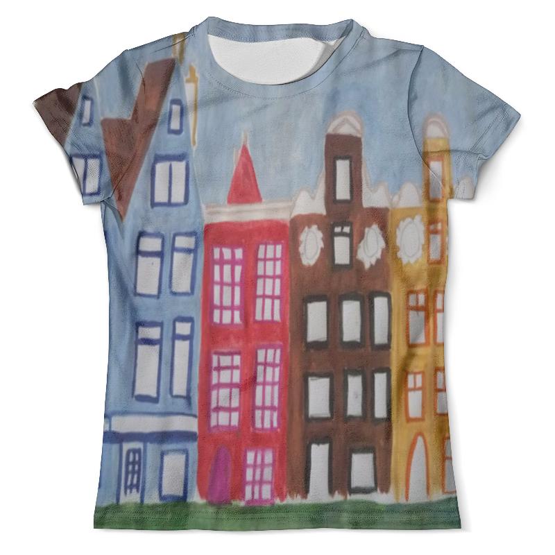 Футболка с полной запечаткой (мужская) Printio Амстердам футболка с полной запечаткой мужская printio амстердам
