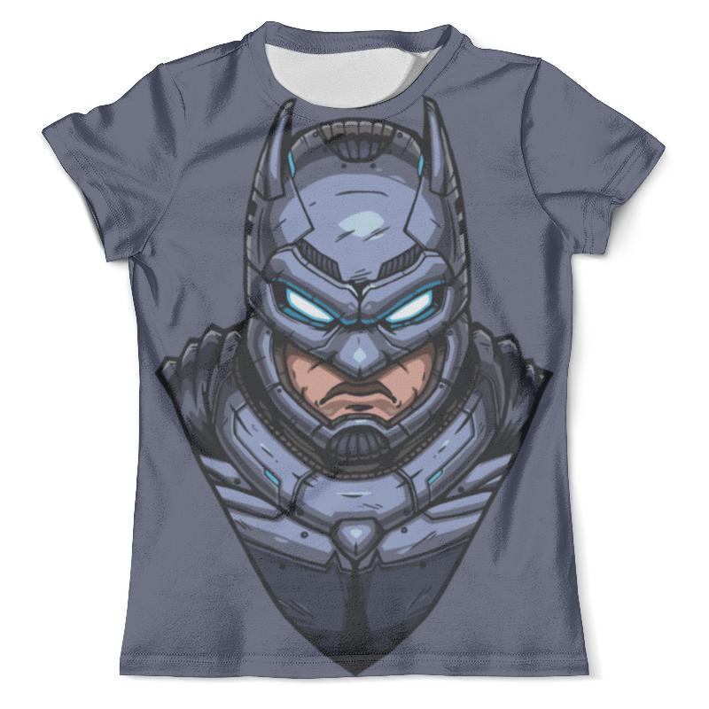 Футболка с полной запечаткой (мужская) Printio Armored batman / бэтмен в броне толстовка wearcraft premium унисекс printio armored batman бэтмен в броне