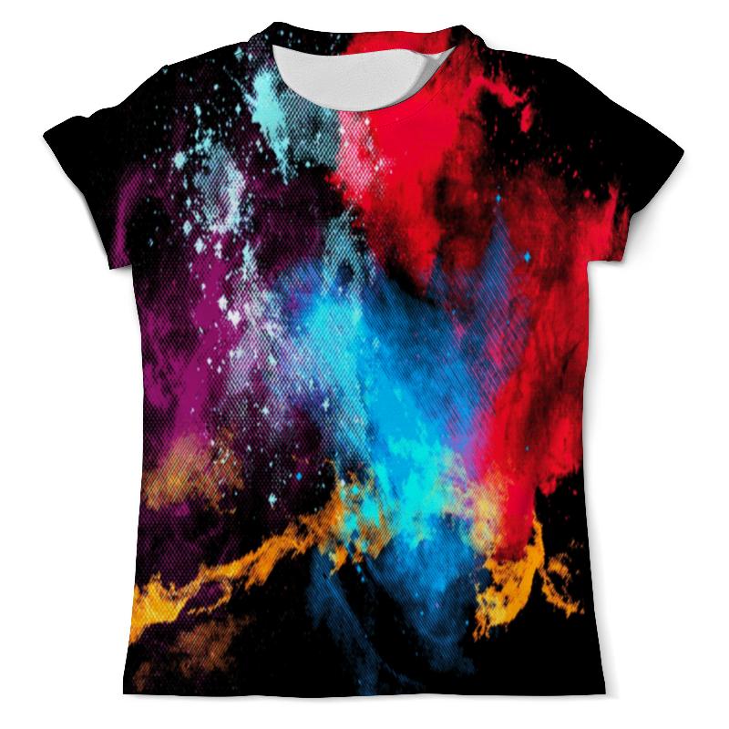 Футболка с полной запечаткой (мужская) Printio Взрыв красок футболка с полной запечаткой мужская printio буря красок