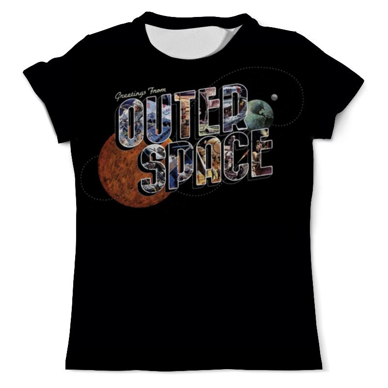 Футболка с полной запечаткой (мужская) Printio Outer space (1) футболка wearcraft premium printio outer space