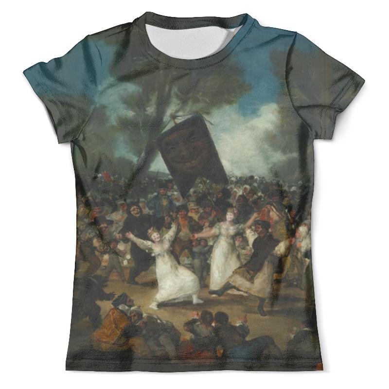 Футболка с полной запечаткой (мужская) Printio Похороны сардинки (картина гойи) футболка с полной запечаткой мужская printio картина