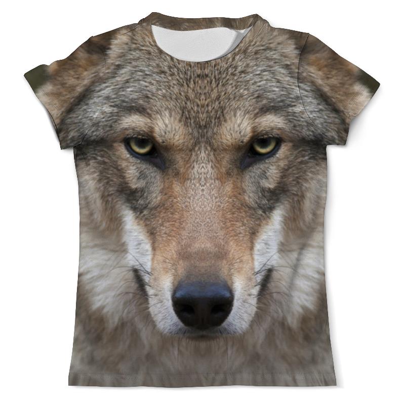 Футболка с полной запечаткой (мужская) Printio Wolf футболка с полной запечаткой мужская printio mountain wolf