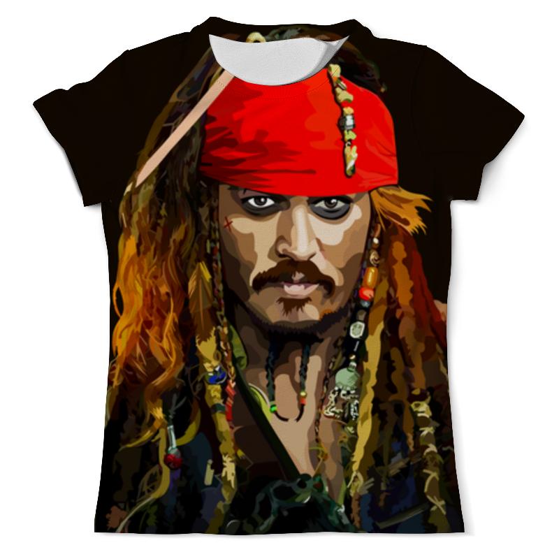 Printio Капитан джек воробей свитшот женский с полной запечаткой printio джек воробей пираты карибского моря