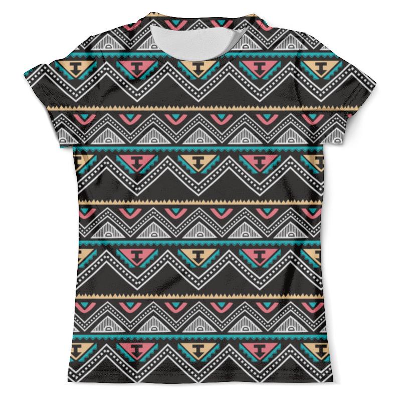Футболка с полной запечаткой (мужская) Printio Графические линии футболка с полной запечаткой женская printio линии