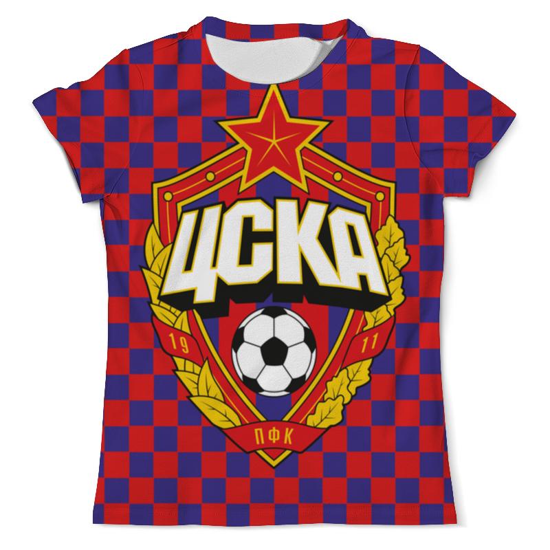 Футболка с полной запечаткой Printio Цска москва футболка с полной запечаткой printio москва россия