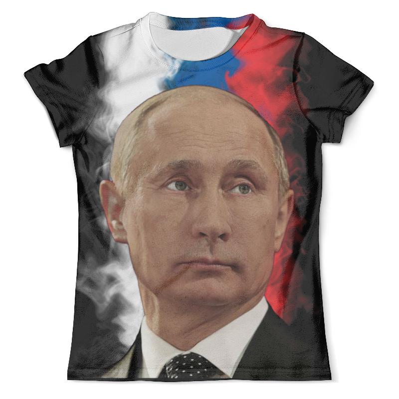 Футболка с полной запечаткой (мужская) Printio Путин патриот страны футболка с полной запечаткой мужская printio путин casual collection