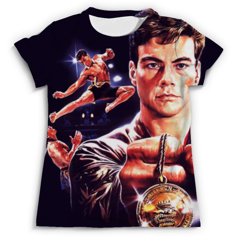 Футболка с полной запечаткой (мужская) Printio Кровавый спорт (bloodsport) футболка с полной запечаткой мужская printio жан рено леон