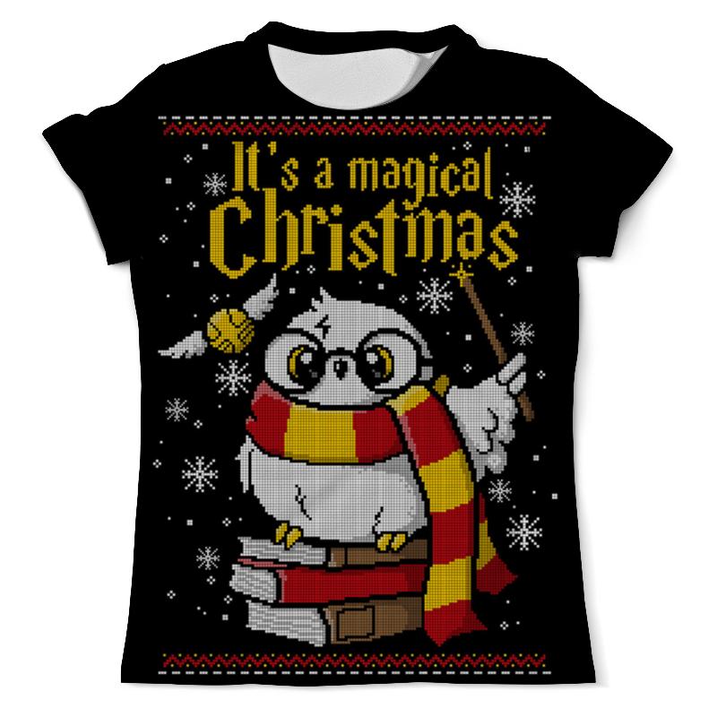 Printio Волшебное рождество футболка с полной запечаткой мужская printio рождество христово