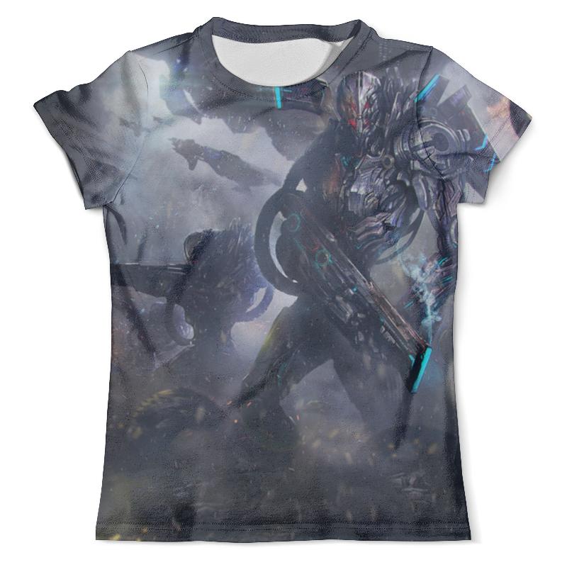 Футболка с полной запечаткой (мужская) Printio Инопланетный солдат футболка с полной запечаткой мужская printio солдат battlefield