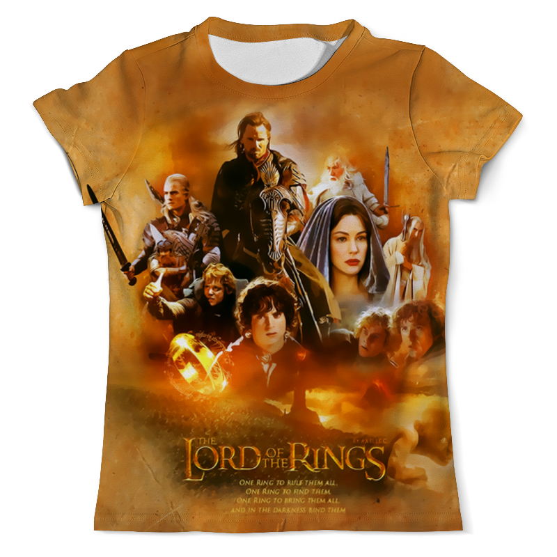 Printio The lord of the rings the lord of the rings