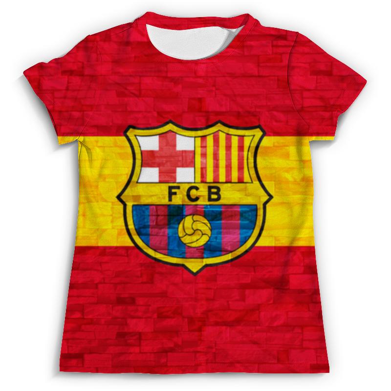 Футболка с полной запечаткой (мужская) Printio Барселона (барса) билеты на матч динамо барселона