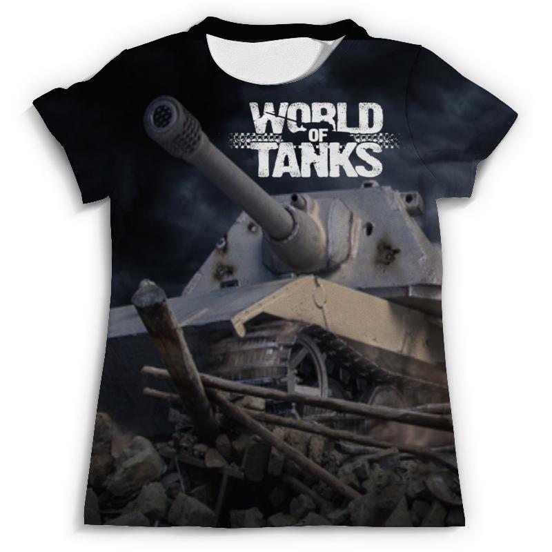 Футболка с полной запечаткой (мужская) Printio World of tanks футболка с полной запечаткой printio мексика