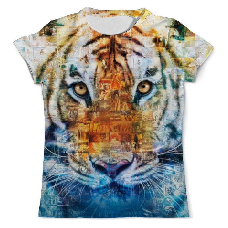 Printio Тигр - жизнь пи футболка с полной запечаткой мужская printio тигр 3d