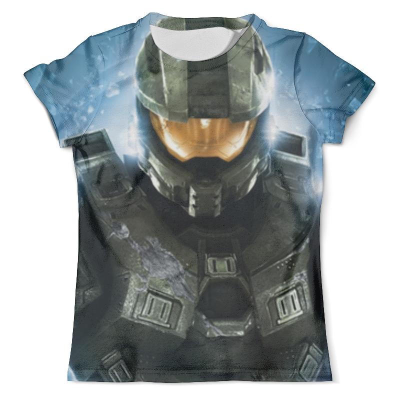 Футболка с полной запечаткой (мужская) Printio Halo 5 , игры , halo , хало square enix play arts kai halo 5 guardians spartans lock figure