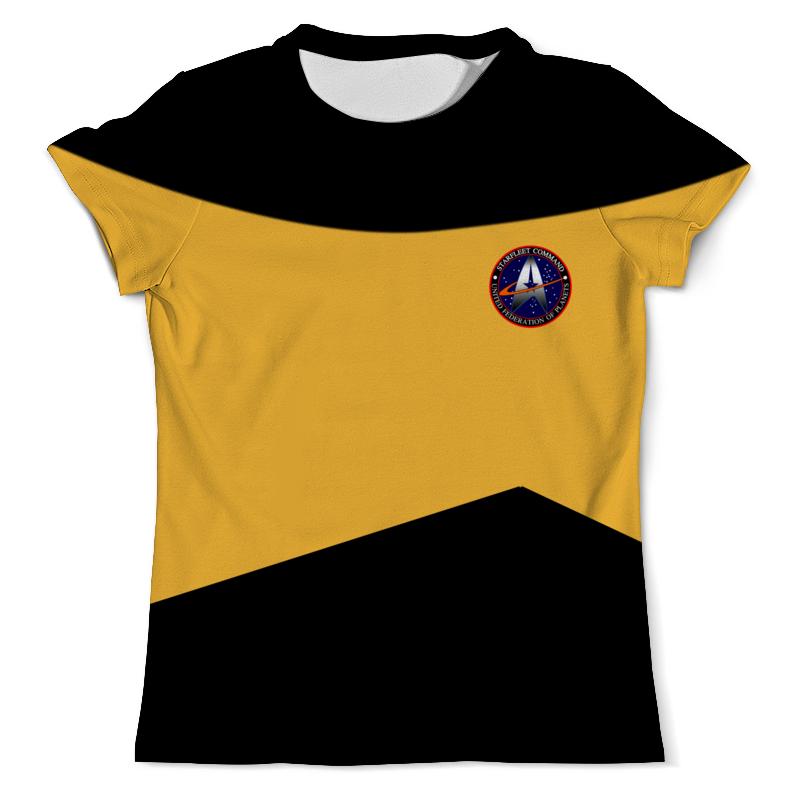 Футболка с полной запечаткой (мужская) Printio Star trek футболка с полной запечаткой для девочек printio star trek