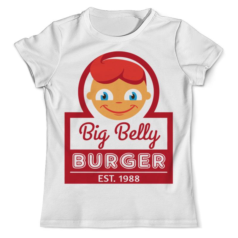 Printio Big belly burger футболка с полной запечаткой мужская printio big belly burger