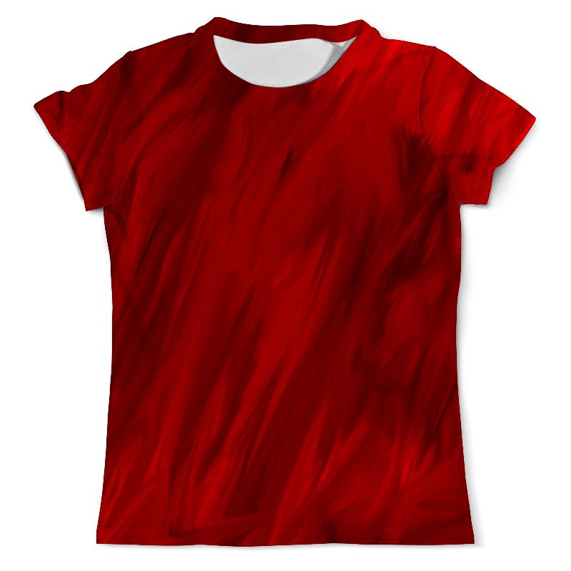 Printio Красные краски футболка с полной запечаткой мужская printio красные краски