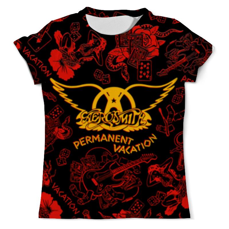Футболка с полной запечаткой (мужская) Printio Aerosmith (смиты, smits) толстовка wearcraft premium унисекс printio aerosmith смиты smits