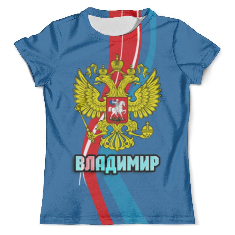 Футболка с полной запечаткой (мужская) Printio Владимир футболка с полной запечаткой мужская printio дефстроук ликвидатор