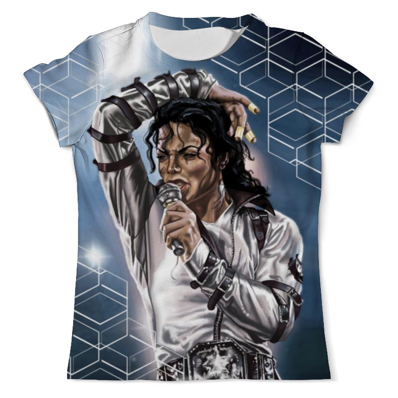 Футболка с полной запечаткой (мужская) Printio Michael jackson (new) футболка с полной запечаткой женская printio thriller michael jackson двусторонняя