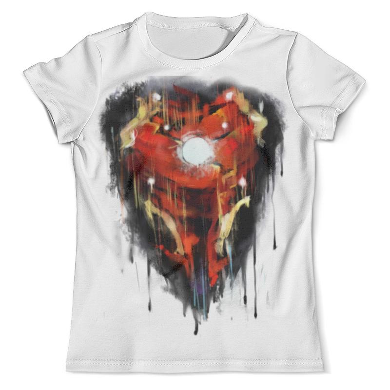 Футболка с полной запечаткой (мужская) Printio Iron man / железный человек футболка с полной запечаткой женская printio железный человек