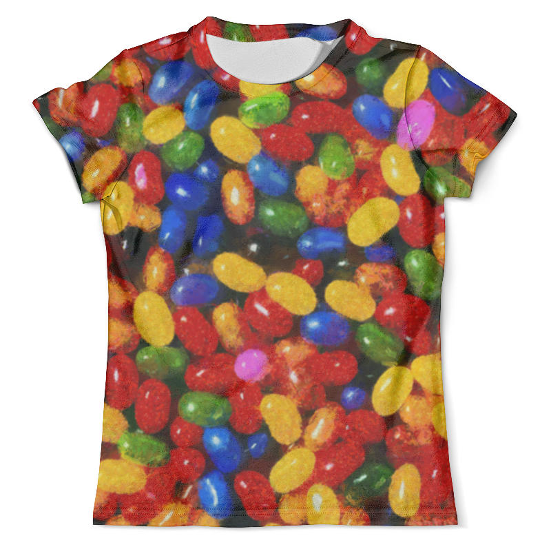 Футболка с полной запечаткой (мужская) Printio Разноцветные леденцы толстовка с полной запечаткой printio леденцы