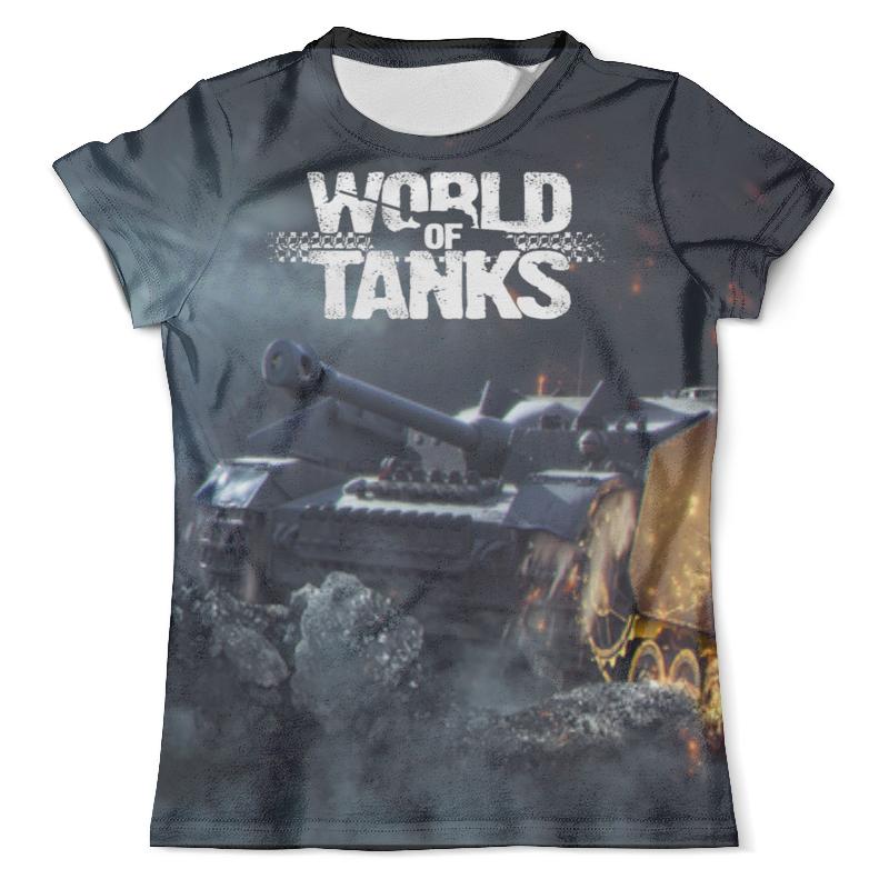 Футболка с полной запечаткой (мужская) Printio World of tanks футболка с полной запечаткой мужская printio street of rage