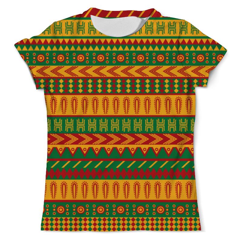 Футболка с полной запечаткой (мужская) Printio Ethnic hooded ethnic insert top