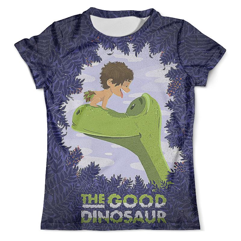 Футболка с полной запечаткой (мужская) Printio The cood dinosaur игрушка good dinosaur 62006