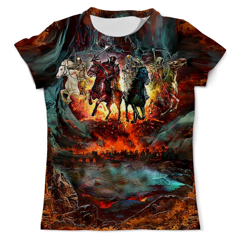 Футболка с полной запечаткой (мужская) Printio Four horsemen of the apocalypse shakespeare – the four romances