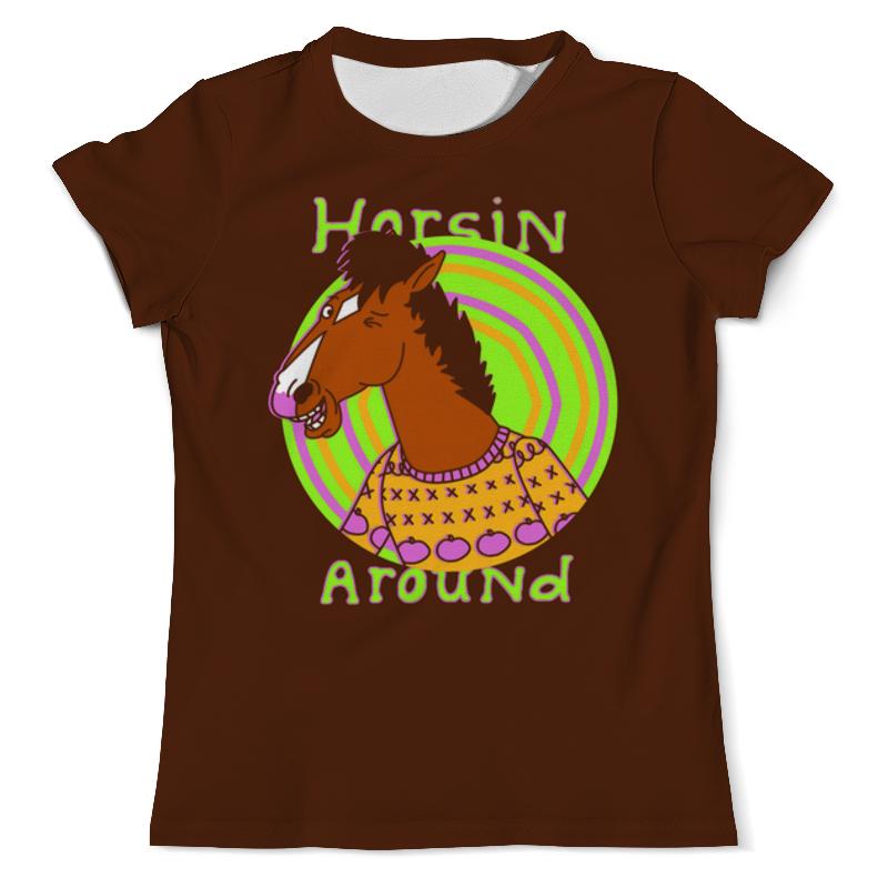 Футболка с полной запечаткой (мужская) Printio Лошадь футболка с полной запечаткой мужская printio огненная лошадь