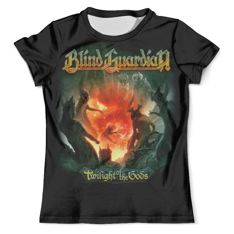 Футболка с полной запечаткой (мужская) Printio Blind guardian blind guardian blind guardian beyond the red mirror