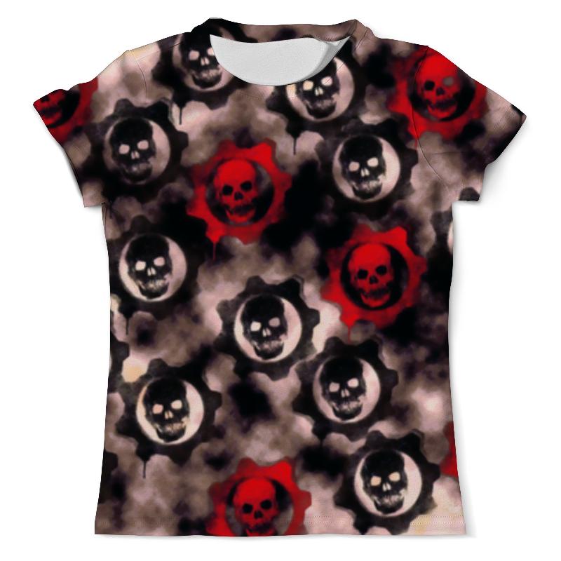 Футболка с полной запечаткой (мужская) Printio Gears of war футболка с полной запечаткой мужская printio civil war