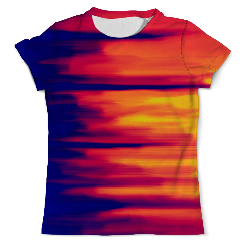 Футболка с полной запечаткой (мужская) Printio Размытые цвета футболка с полной запечаткой мужская printio радуга цвета жизни