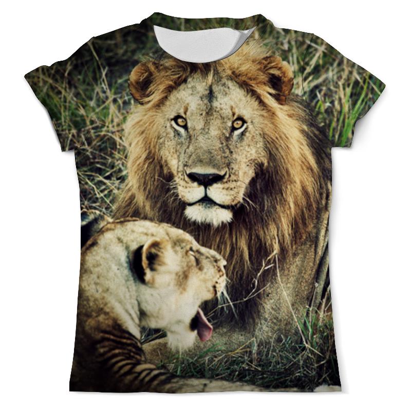 цена на Printio Лев и львица