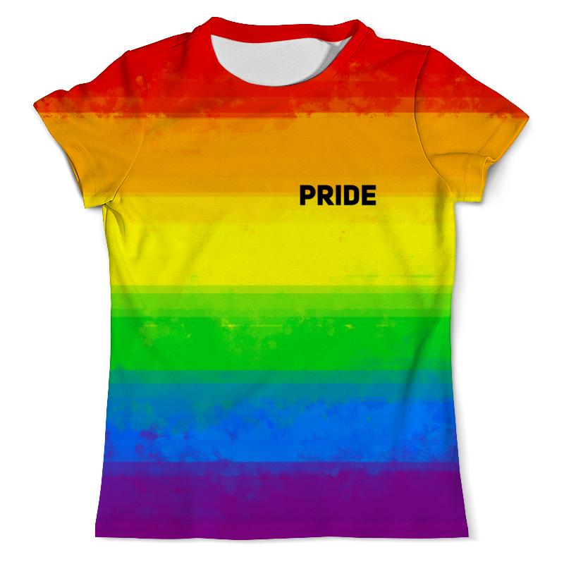 Футболка с полной запечаткой (мужская) Printio Pride футболка лгбт