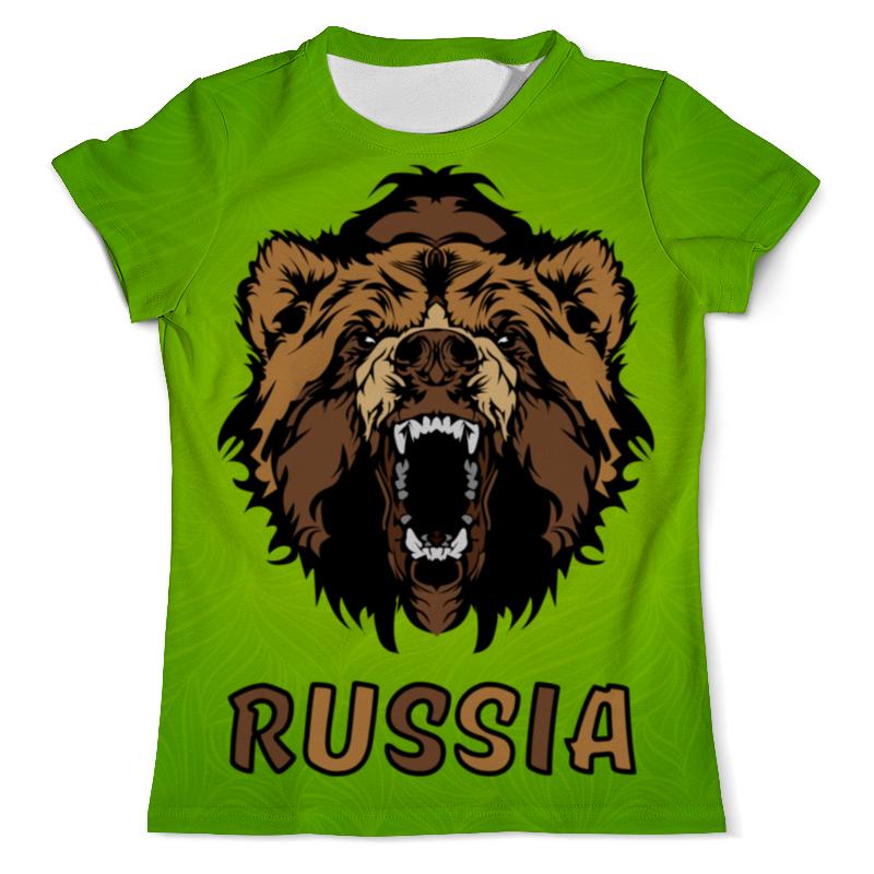 Футболка с полной запечаткой (мужская) Printio Россия (russia) футболка с полной запечаткой мужская printio football russia