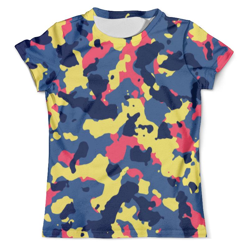 Футболка с полной запечаткой (мужская) Printio Camouflage color футболка с полной запечаткой мужская printio color