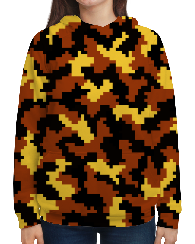 Толстовка с полной запечаткой Printio Багряный камуфляж чехол для для мобильных телефонов zte vodafone 543 for zte vodafone 54