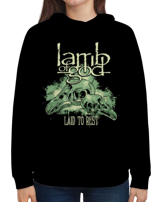 Толстовка с полной запечаткой Printio Lamb of god lamb of god lamb of god sacrament